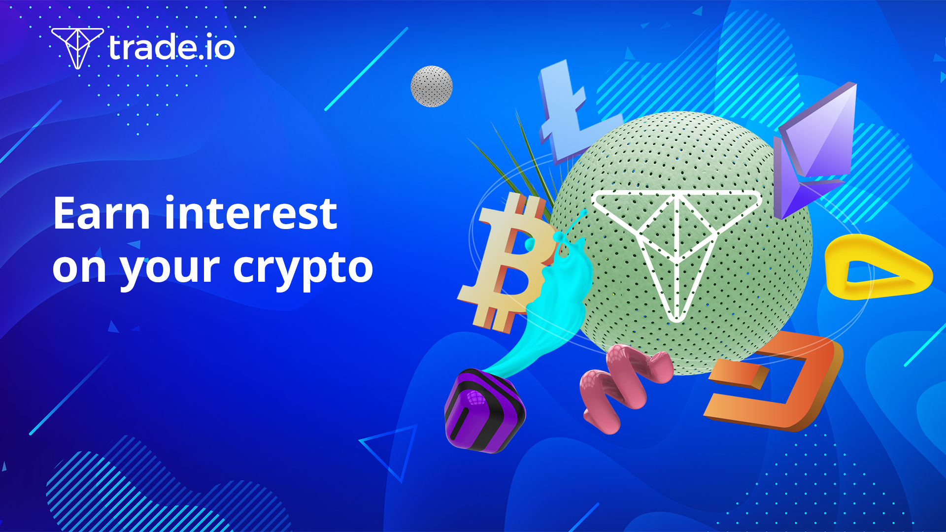 Earn interest on your crypto   Daily payouts, no long-term